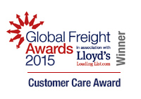 Espace Europe - Global Freight Awards 2015 Winner