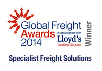 Espace Europe - Global Freight Awards 2014 Winner